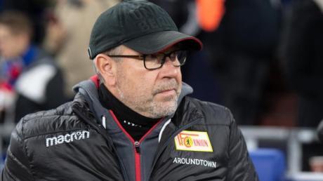 Sieht sein Team gegen Köln nicht in der Favoritenrolle: Union-Coach Urs Fischer.