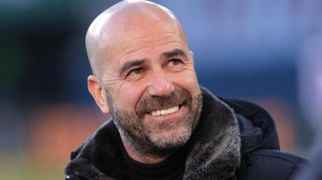 Mainz gegen Leverkusen im Live-TV, Stream, Ticker: Übertragung, Ergebnis, Spielstand. Im Bild:  Leverkusen-Coach Peter Bosz.