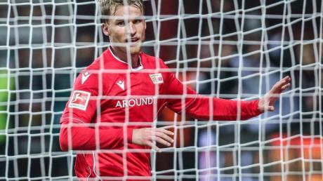 Der treffsichere Stürmer Sebastian Andersson steht exemplarisch für den Erfolg des 1. FC Union Berlin.