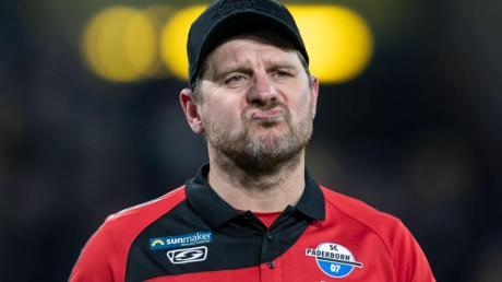 Freut sich auf die Gäste aus Berlin: Paderborns Trainer Steffen Baumgart.