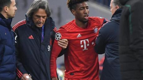 Für Bayern-Profi Kingsley Coman (M) ist die Hinrunde vorzeitig beendet.