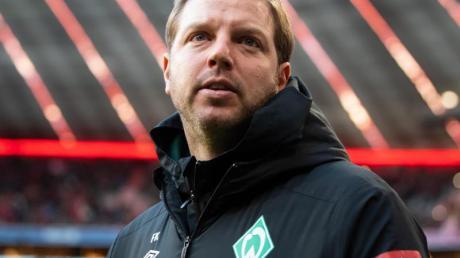 Trainer Florian Kohfeldt ist mit Bremen in der Krise.
