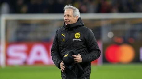 Dortmunds Trainer Lucien Favre hat mit dem BVB bisher 2,14 Punkte im Schnitt geholt.