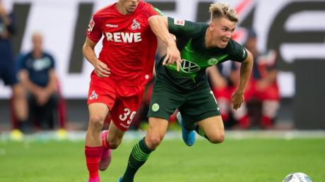 Darko Churlinov (l) in Aktion für den 1. FC Köln.