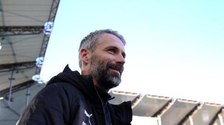Glaubt noch an die Herbstmeisterschaft:Mönchengladbachs Trainer Marco Rose.