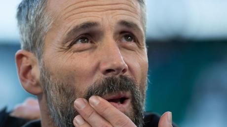 Kassierte mit Gladbach zuletzt zwei Niederlagen in Serie: Borussia-Coach Marco Rose.