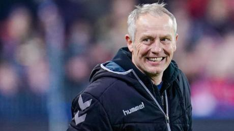 Christian Streich ist der Trainer der SC Freiburg.