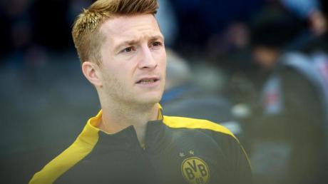 BVB-Stürmer Marco Reus muss auf das Spiel in Hoffenheim verzichten.