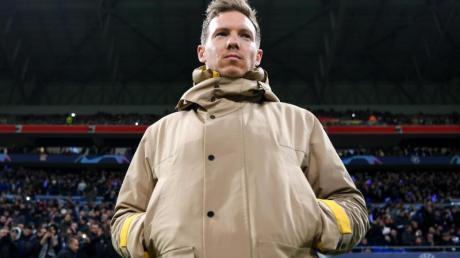 Trainer Julian Nagelsmann kann sich mit RB Leipzig die Herbstmeisterschaft sichern.