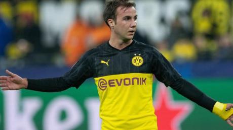 Mario Götze spielt beim BVB von Beginn an.