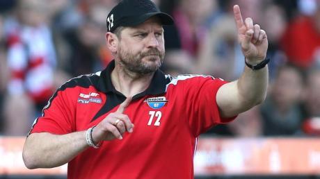 Hat viel Vertrauen in seine Mannschaft: Paderborns Trainer Steffen Baumgart.