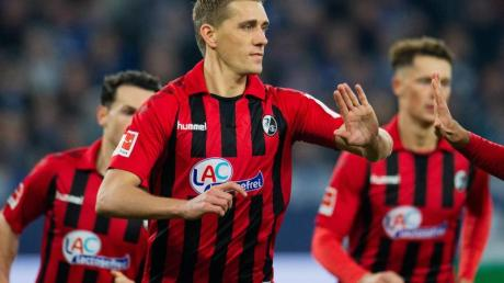Nils Petersen erzielte sein 83. Tor für den SC Freiburg.
