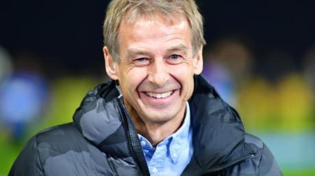 Musste beim DFB noch eine gültige Fußballlehrer-Lizenz nachweisen:Herthas Trainer Jürgen Klinsmann.