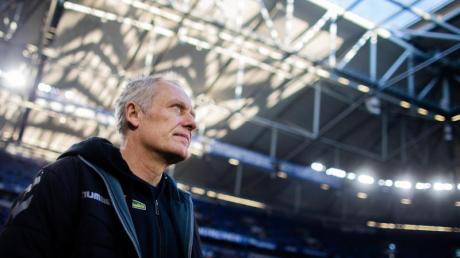 Ging mit Freiburg vor Weihnachten noch nie als Verlierer vom Platz: SC-Coach Christian Streich.