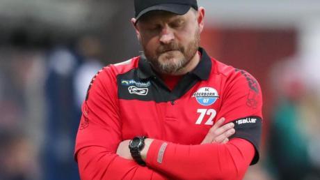 Bereitet sein Team in Ostwestfalen auf die Rückrunde vor: Paderborns Trainer Steffen Baumgart.