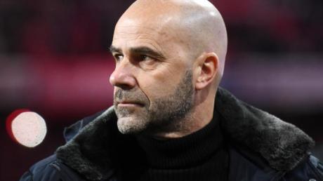 Reiste mit Bayer Leverkusen zunächst ohne Neuzugang ins Trainingslager: Trainer Peter Bosz.
