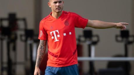 Hat im Trainingslager erstmals wieder mit den Bayern trainiert: Lucas Hernández.