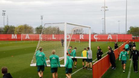 Werder Bremen absolviert das Trainingslager auf Mallorca.