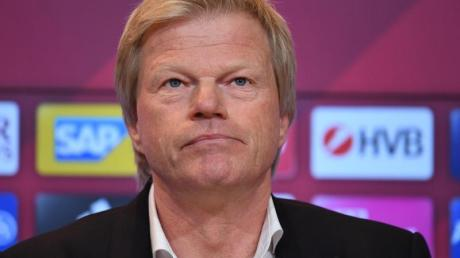 Begrüßt den Wechsel von Alexander Nübel zum FCBayern: Vorstandsmitglied Oliver Kahn.