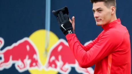 Zeigt auch Trikot von RB Leipzig starke Leistungen: Patrik Schick.