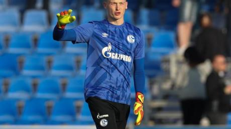 Hat vorerst das Vertrauen von Schalke-Coach David Wagner: Markus Schubert.