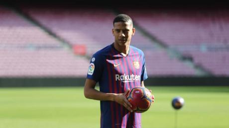 Bald ein Schalker?: Jean-Clair Todibo vom FC Barcelona.