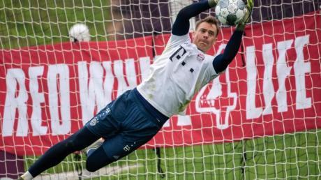 Klare Nummer eins beim FCBayern: Nationalkeeper Manuel Neuer.