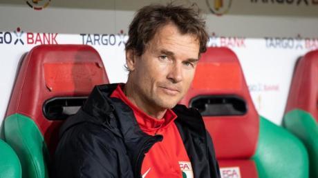 Saß als Co-Trainer beim FC Augsburg bereits auf einerBundesliga-Bank: Ex-Nationalkeeper Jens Lehmann.