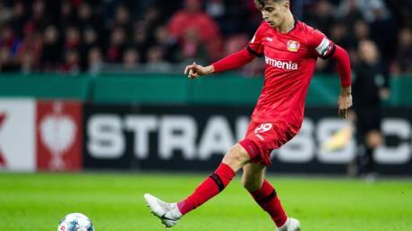 Leverkusens Kai Havertz traf gleich doppel.