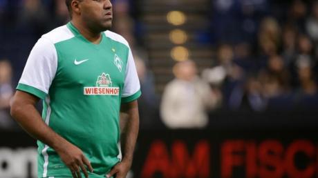 Ailton ist für Werder Bremen in diversen Traditions-Mannschaften aktiv.