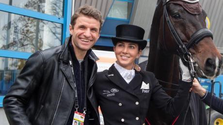 Könnten zusammen in Tokio bei Olympia sein: Lisa und Thomas Müller.