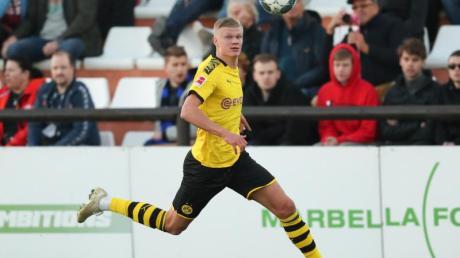 Steht vor seinem Bundesliga-Debüt: Erling Haaland.