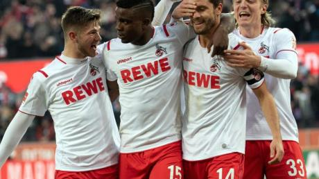Die Kölner ließen den VfL Wolfsburg keine Chance.