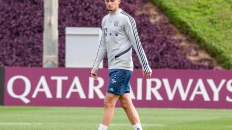 Kam vor der Saison aus Gladbach zum FC Bayern: Mickaël Cuisance.
