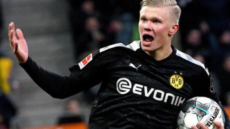 BVB-Talent Erling Haaland könnte gegen den 1. FC Köln von Beginn an auflaufen.