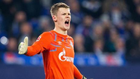 Schalkes Torwart Alexander Nübel ist für das Spiel beim FC Bayern gesperrt.