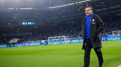 Trainer David Wagner fährt mit den Schalkern zum FC Bayern München.
