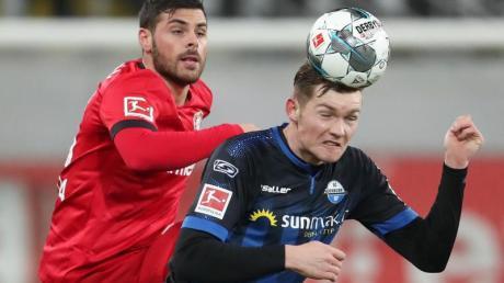 Luca Kilian (r) wird dem SC Paderborn vorerst fehlen.
