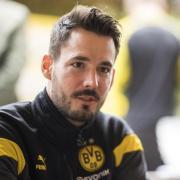 BVB-Keeper Roman Bürki scherzte über seinen Teamkollegen Erling Haaland.