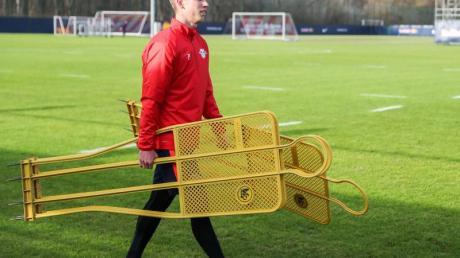 Hat bei RBLeipzig das Training aufgenommen: Neuzugang Dani Olmo.