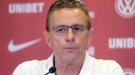 Geht mit den Leipzig-Profis: Ralf Rangnick.