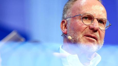 Sieht keinen Bedarf in Sachen Neuverpflichtungen: Bayern-Boss Karl-Heinz Rummenigge.