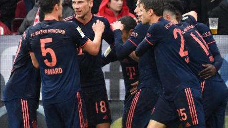 Die Bayern blicken dem Spiel gegen RB Leipzig mit Optimismus entgegen.