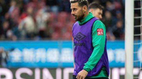 Mit Werder mitten im Abstiegskampf: Claudio Pizarro.