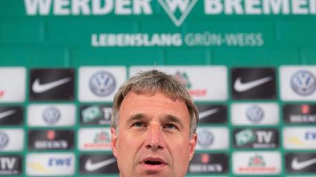 Mit Werder Bremen mitten im Abstiegskampf: Aufsichtsradboss Marco Bode.