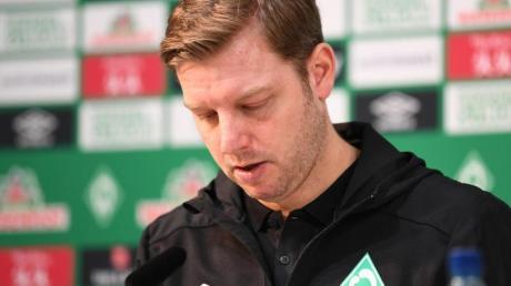 Werders Trainer Florian Kohfeldt genießt weiterhin das Vertrauen des Vereins.