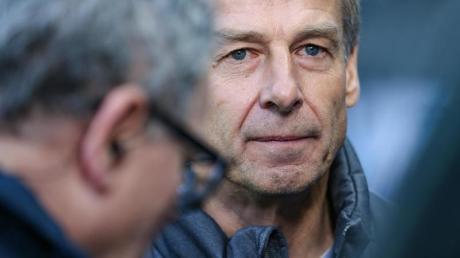 Ist das Lachen vergangen: Hertha-Coach Jürgen Klinsmann.