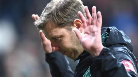 Ratlos: Werder-Coach Florian Kohfeldt nach der Heimpleite gegen Union.