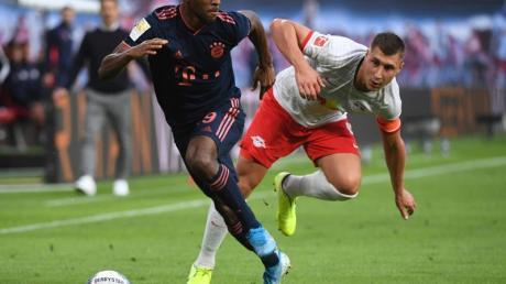 Konnte für den FC Bayern München wieder auflaufen: Kingsley Coman (l).