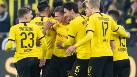 Borussia Dortmund ließ gegen Eintracht Frankfurt nur einen gegnerischen Torschuss zu.